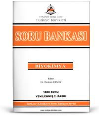 Türkiye Klinikleri Soru Bankası Serisi  BİYOKİMYA 1888 Soru