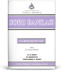 Türkiye Klinikleri Soru Bankası Serisi  FARMAKOLOJİ 2116 Soru 50 Medikutu