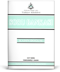 Türkiye Klinikleri Soru Bankası Serisi  KADIN-DOĞUM 1617 Soru