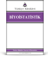 Turkiye Klinikleri Journal of Biostatistics