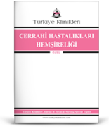 Turkiye Klinikleri Journal of Surgical Nursing-Special Topics