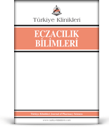 Turkiye Klinikleri Journal of Pharmacy Sciences