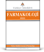 Turkiye Klinikleri Journal of Pharmacology Special Topics