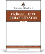 Turkiye Klinikleri Journal of Physical Medicine Rehabilitation Special Topics