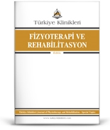Turkiye Klinikleri Journal of Physiotherapy and Rehabilitation-Special Topics