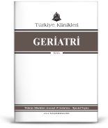 Turkiye Klinikleri Journal of Geriatrics-Special Topics