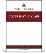 Turkiye Klinikleri Journal of Pulmonary Medicine