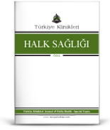 Turkiye Klinikleri Journal of Public Health-Special Topic