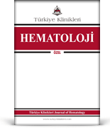 Turkiye Klinikleri Journal of Hematology Special Topics