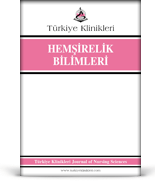 Turkiye Klinikleri Journal of Nursing Sciences