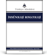 Turkiye Klinikleri Journal of Immunology Rheumatology