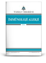 Turkiye Klinikleri Journal of Immunology Allergy Special Topics