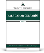 Turkiye Klinikleri Journal of Cardiovascular Surgery Special Topics