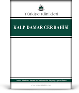 Turkiye Klinikleri Journal of Cardiovascular Surgery