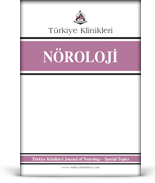 Turkiye Klinikleri Journal of Neurology