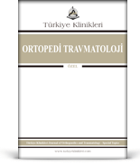 Turkiye Klinikleri Journal of Orthopaedics and Traumatology Special Topics