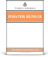 Turkiye Klinikleri Journal of Pediatric Sciences