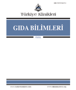 Turkiye Klinikleri Journal of Food Hygiene and Technology-Special Topics